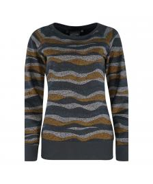 Mazine Frauen Pullover Mazine Sherry Sweater deep ocean/ waves