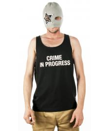 Space Monkeys Space Monkeys Crime In Progress Tank Top black