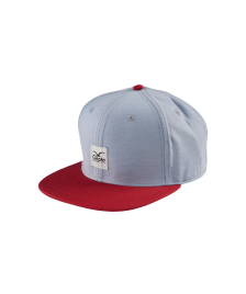 Cleptomanicx Snapback Cap Cleptomanicx Badger Twill tawny port