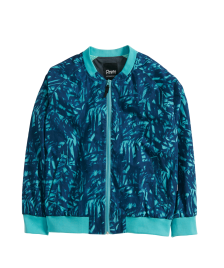 Cleptomanicx Frauen Jacke Cleptomanicx All Season Jacket Leaves Bomber dusty turquoise