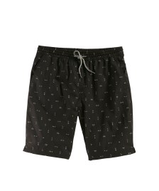 Cleptomanicx Männer Shorts Cleptomanicx Boardshorts Jam Pattem black