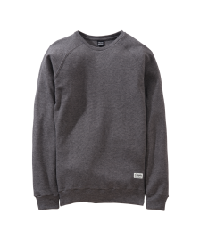 Cleptomanicx Männer Pullover Cleptomanicx Crewneck Larry 2.0 pirate black