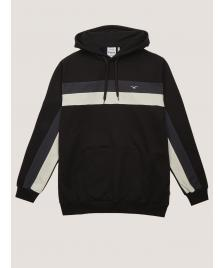 Cleptomanicx Männer Kapuzenpullover Cleptomanicx Hooded Faster black / phantom black