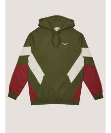 Cleptomanicx Männer Kapuzenpullover Cleptomanicx Hooded That is That 2 rifle green