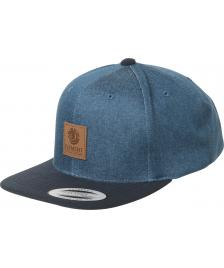Element Element Cap State Snapback Hat Midnight Blue