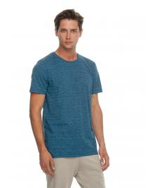 Ragwear Männer T-Shirt Ragwear Steef denim blue