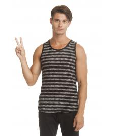 Ragwear Ragwear Terry Stripes Tank Top black