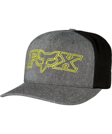 Fox Flexfit Cap Fox Transistor heather black
