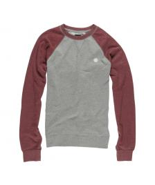Element Element Pullover Vermont Crewneck Sweater grey heather