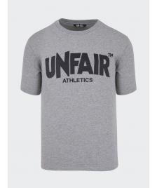 Unfair Athletics Männer T-Shirt Unfair Athletics Unfair Classic Label T-Shirt grey/black