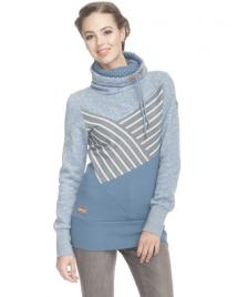 Ragwear Frauen Pullover Ragwear Viola light blue