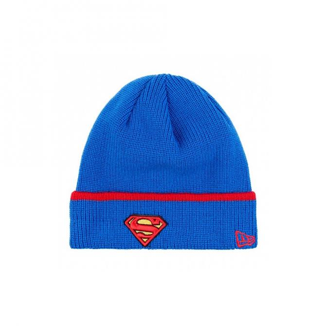 New Era Mütze Pop Cuff Knit 3 Superman official