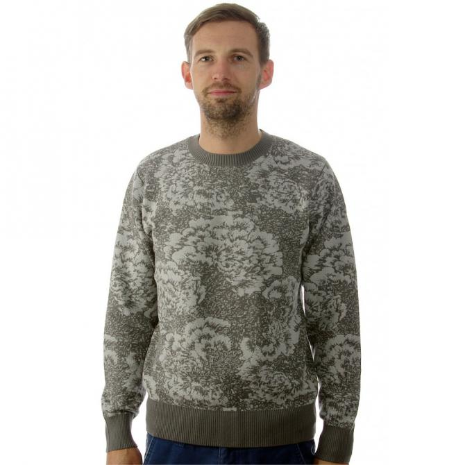 Obey Obey Pullover Cranford Sweater grey