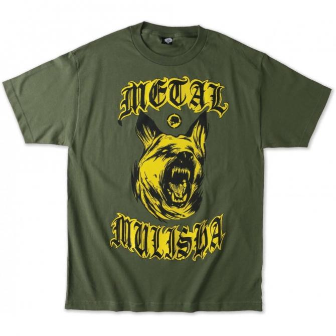 Metal Mulisha T-Shirt K9 Tee military green S
