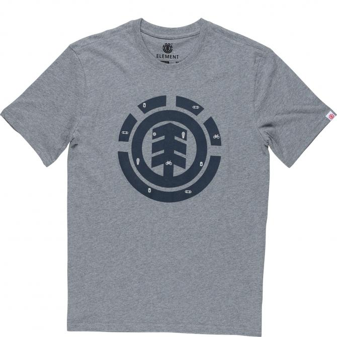 Männer T-Shirt Element In A Day grey heather XS