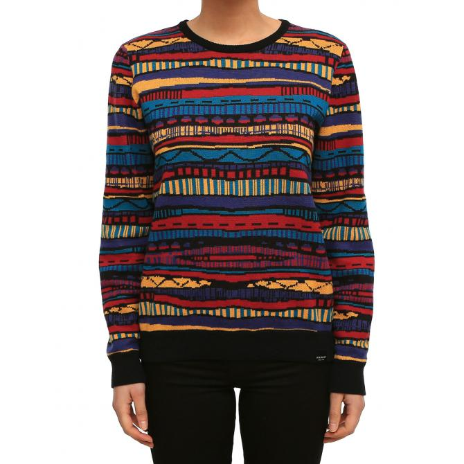 Iriedaily Frauen Pullover Iriedaily Rudy Knit colored