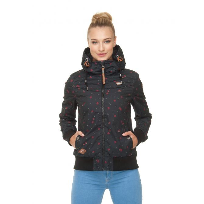 Frauen Jacke Ragwear Jotty Berries black XS