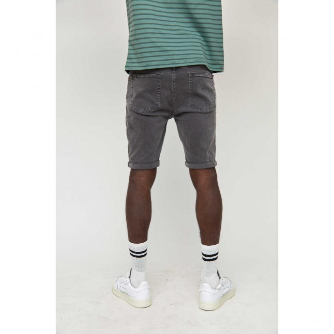 Mazine Männer Shorts Mazine Denim Shorts dark grey