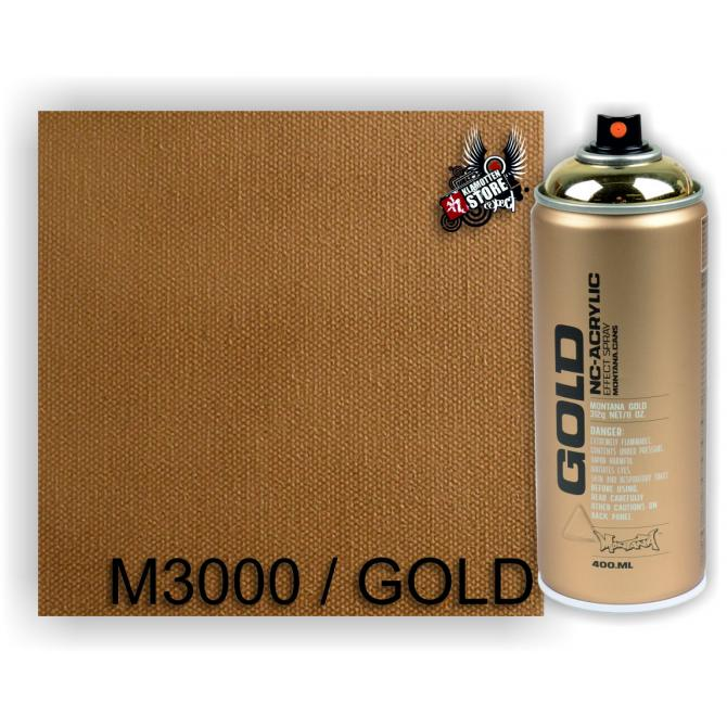 Montana Montana Gold Sprühdose 400ml Goldchrome M3000
