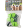 Klamottenstore Montana Black Sprühdosen Set A-Team 6x400ml inkl. Cap-Set