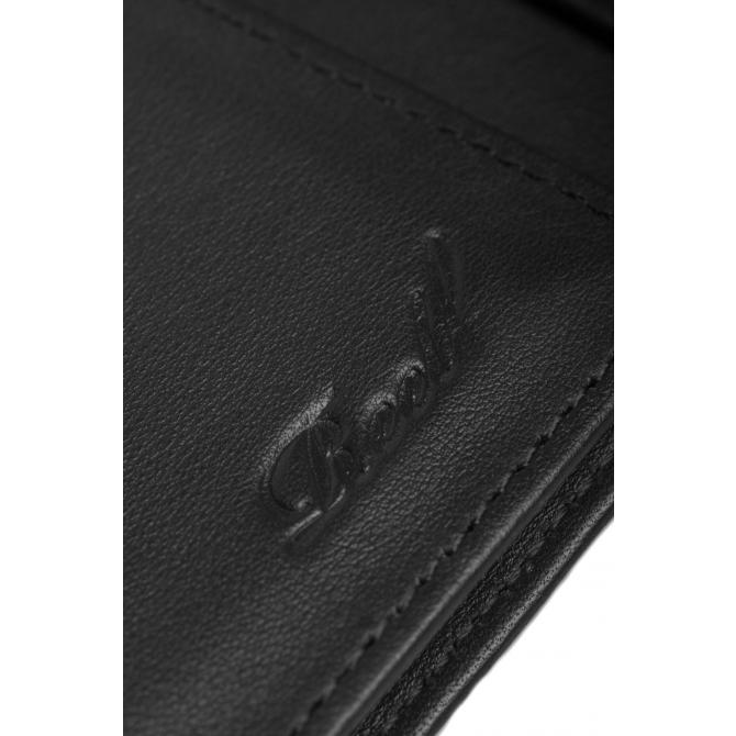 Reell Geldbeutel Reell Mini Trifold Leather Wallet black