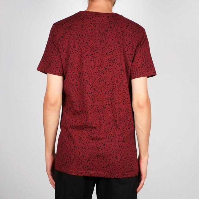 Dedicated Männer T-Shirt Dedicated Stockholm Dots burgundy