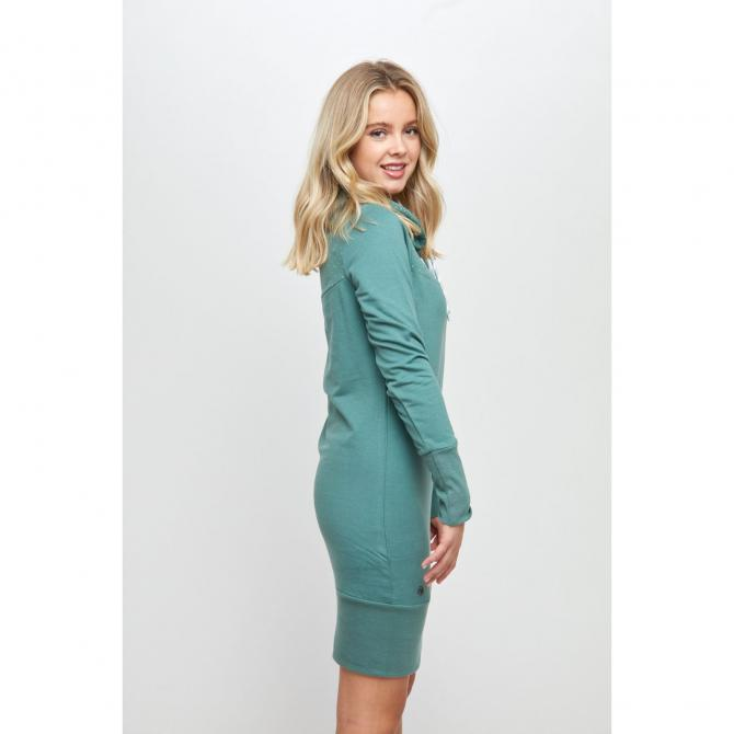 Mazine Frauen Kleid Mazine Ozette Dress forest