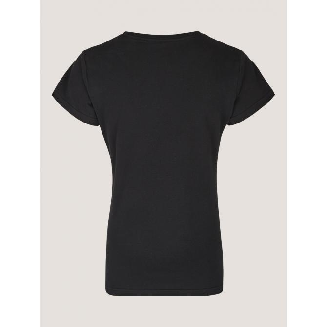 Cleptomanicx Frauen T-Shirt Cleptomanicx Special Tee Scribble Möwe 2 black